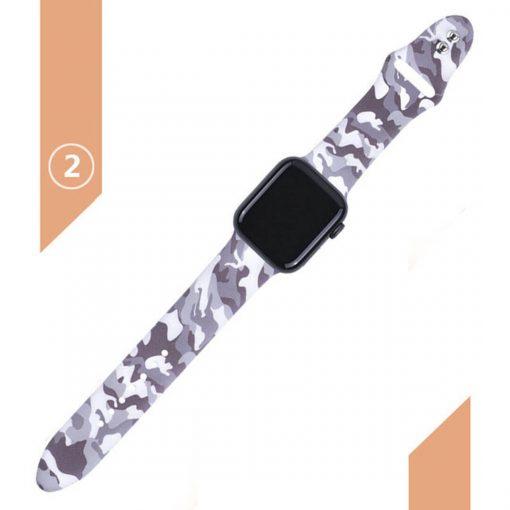 Apple watch askeri desenli kordon