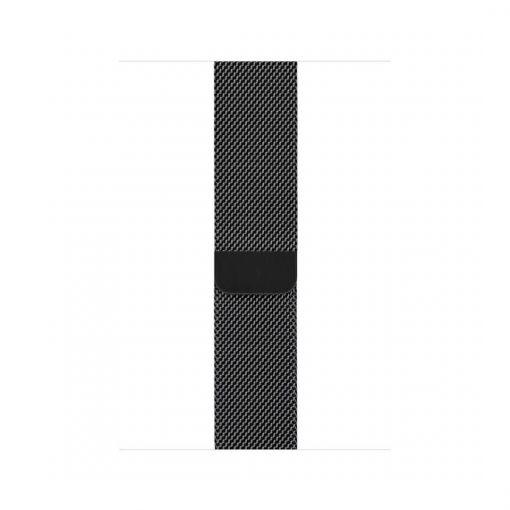 apple watch siyah rengi metal örgü kayış 38mm 40mm