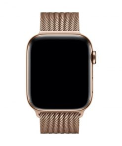 apple watch metal kordon 42mm 44mm altın