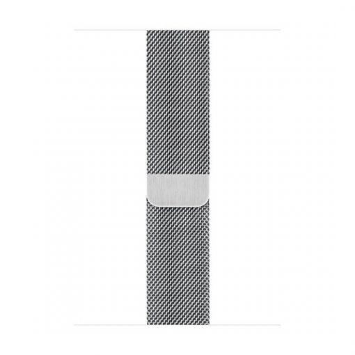 apple watch gümüş rengi metal örgü kayış 42mm 44mm