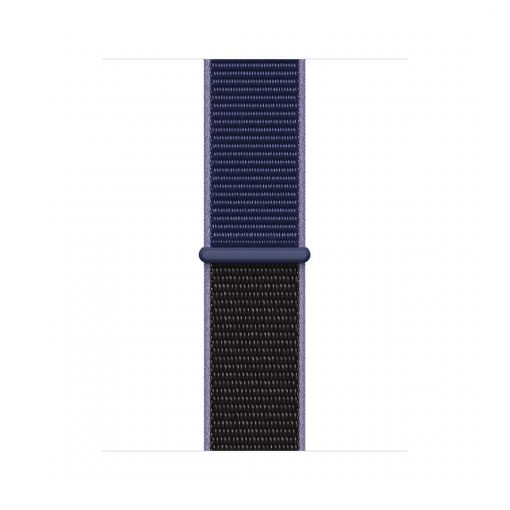 38mm 40mm spor kordon naylon örme kayış midnight blue
