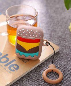 Hamburger airpods kılıfı