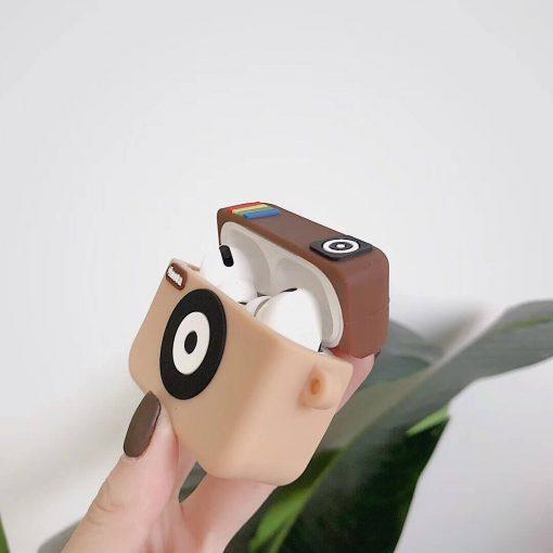 yandan instagram logolu airpods pro kabı