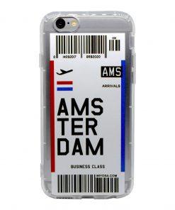 iphone 6 6s amsterdam bilet kılıf önden çekim