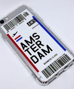 iphone 6 6s amsterdam uçak bileti kılıf detaylı