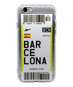 iphone 6 6s barcelona bilet kılıf önden çekim