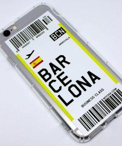 iphone 6 6s barcelona uçak bileti kılıf detaylı