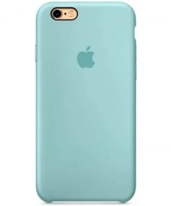 iphone 6 6s apple logolu ice sea blue lansman kılıf