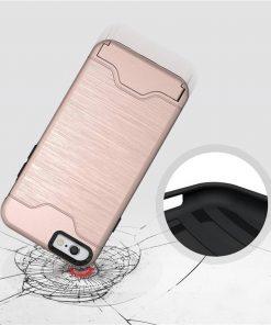 iPhone 6 6s pembe darbe emici telefon kılıfı
