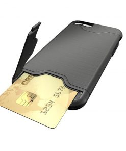 iPhone 6 6s gri renk kredi kartı bölmesi