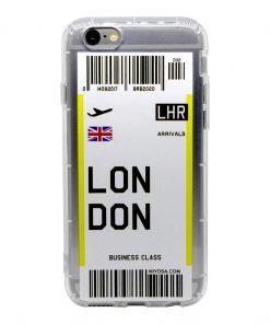 iphone 6 6s london bilet kılıf önden çekim
