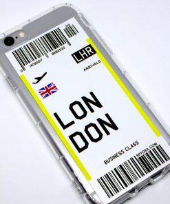 iphone 6 6s london uçak bileti kılıf detaylı