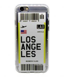 iphone 6 6s los angeles bilet kılıf önden çekim