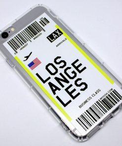 iphone 6 6s los angeles uçak bileti kılıf detaylı