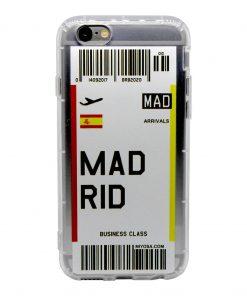 iphone 6 6s madrid bilet kılıf önden çekim