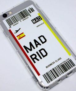 iphone 6 6s madrid uçak bileti kılıf detaylı