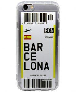 iphone 6 6s plus barcelona bilet kılıf önden çekim