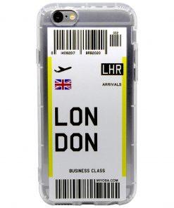 iphone 6 6s plus london bilet kılıf önden çekim