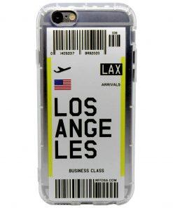 iphone 6 6s plus los angeles bilet kılıf önden çekim
