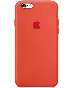 iphone 6 6s plus apple logolu spicy orange lansman kılıf
