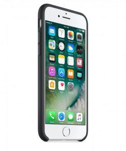 iphone 7 8 siyah lansman kılıf önden çekim