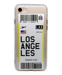 iphone 7 8 los angeles bilet kılıf önden çekim
