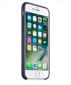 iphone 7 8 midnight blue lansman kılıf önden çekim