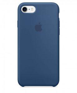 iphone 7 8 apple logolu ocean blue lansman kılıf
