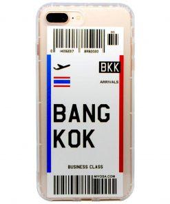 iphone 7 8 plus bangkok bilet kılıf önden çekim
