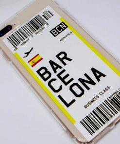 iphone 7 8 plus barcelona uçak bileti kılıf detaylı
