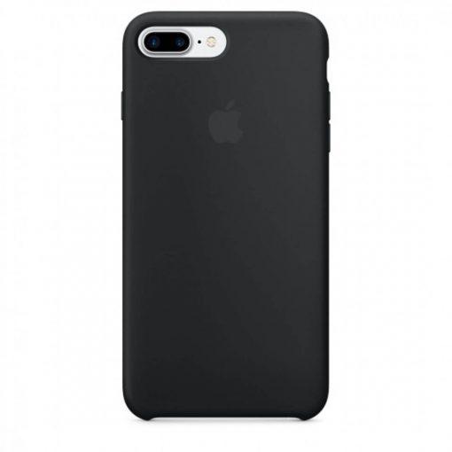 iphone 7 8 plus apple logolu siyah lansman kılıf