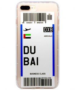 iphone 7 8 plus dubai bilet kılıf önden çekim