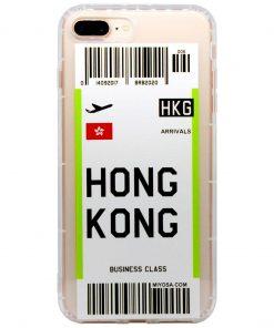 iphone 7 8 plus hong kong bilet kılıf önden çekim