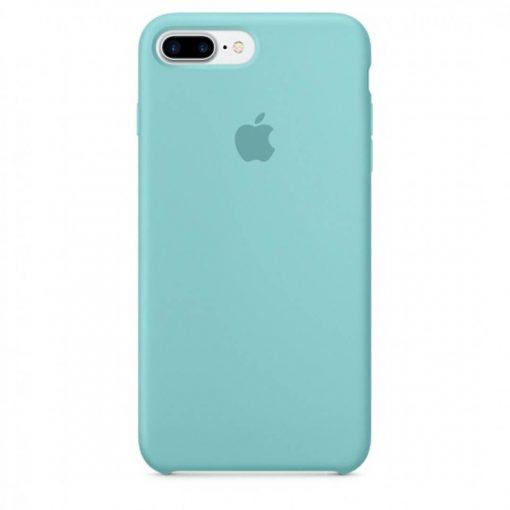 iphone 7 8 plus apple logolu ice sea blue lansman kılıf