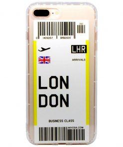 iphone 7 8 plus london bilet kılıf önden çekim