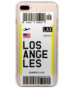 iphone 7 8 plus los angeles bilet kılıf önden çekim