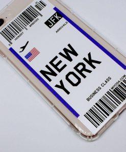 iphone 7 8 plus new york uçak bileti kılıf detaylı