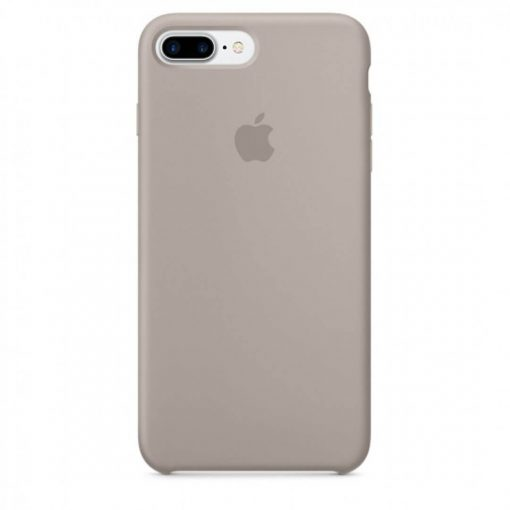 iphone 7 8 plus apple logolu pebble lansman kılıf