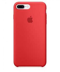 iphone 7 8 plus apple logolu kırmızı lansman kılıf