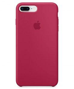 iphone 7 8 plus apple logolu rose red lansman kılıf