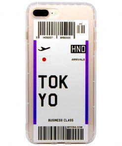 iphone 7 8 plus tokyo bilet kılıf önden çekim