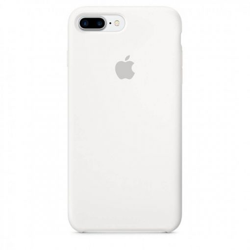 iphone 7 8 plus apple logolu beyaz lansman kılıf