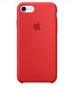 iphone 7 8 apple logolu kırmızı lansman kılıf