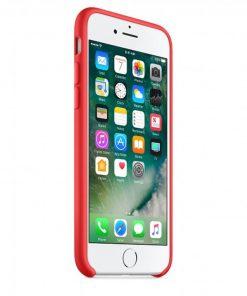 iphone 7 8 kırmızı lansman kılıf önden çekim
