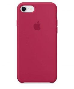 iphone 7 8 apple logolu rose red lansman kılıf