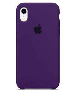 iphone xr apple logolu purple lansman kılıf
