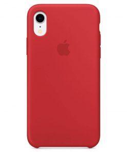 iphone xr apple logolu red lansman kılıf