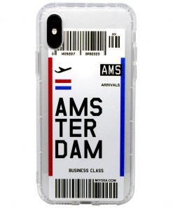 iphone xs max amsterdam bilet kılıf önden çekim