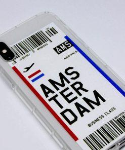 iphone xs max amsterdam uçak bileti kılıf detaylı