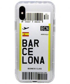 iphone xs max barcelona bilet kılıf önden çekim